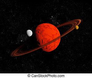 resources., ver, abstract, travel., space., toekomst, diep, achtergrond, nieuw, technologieën
