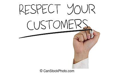 respect, clients, ton