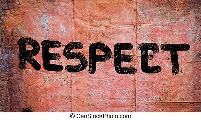 Respect Concept