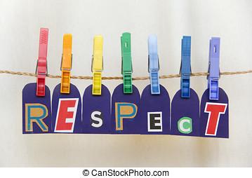 respect, lgbt, pince, arc-en-ciel