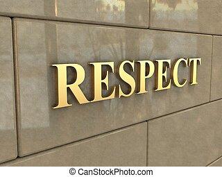 respect, mot
