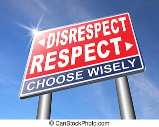 respeto, diferente, opinión