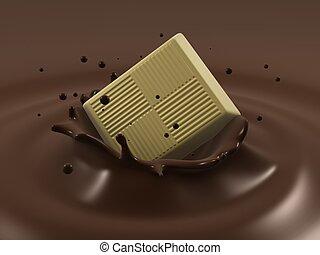 respingo, chocolate