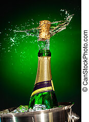 respingue, champanhe