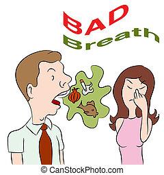 respiração má