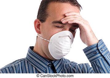 respiratório, infecção