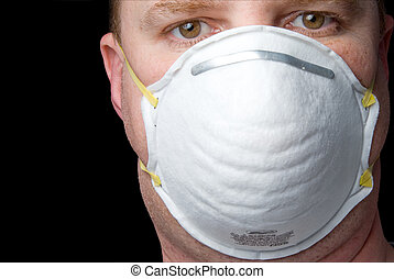 Respirator - An inexpensive industrial respirator personal...
