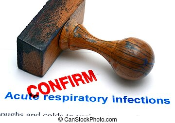 respiratorio, infezioni, confermare