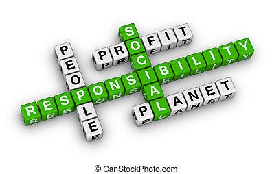 responsabilité, social