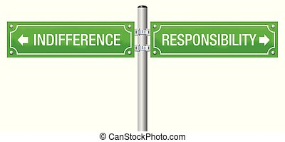 Responsibility Indifference Signpost