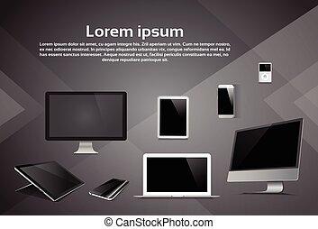 Responsive Design Laptop Phone Tablet MP3 Player Desktop Device