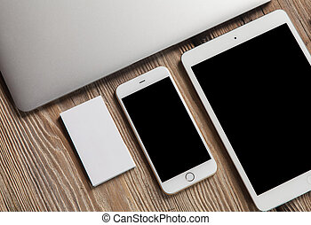 Responsive design mockup - The responsive design mockup on...