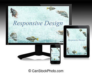 Scalable software for responsive websites. Easy communication among different digital devices.