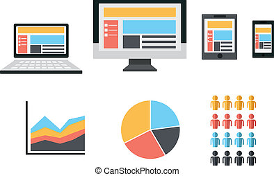 Responsive Web Design Flat Icon