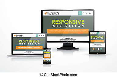responsive web design in different devices - responsive web...