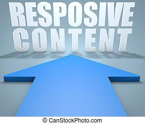 responsivo, conteúdo