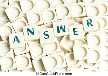 resposta, palavra, feito, por, leter, pedaços