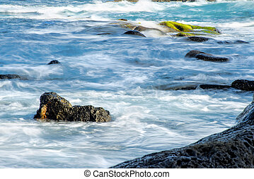 ressac, long, océan, atlantique, temps, exposition