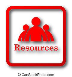 ressources, icône