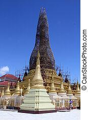 restaurálás, stupa