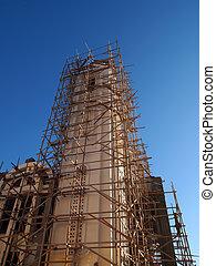 restaurálás, templom