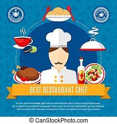 Restaurant Chef Concept