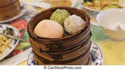 restaurant, chinois, yokohama