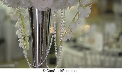 Restaurant decoration for wedding