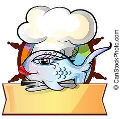restaurant fish menu on rudder