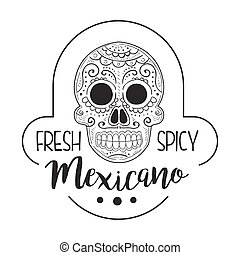Restaurant Fresh And Spicy Mexican Food Menu Promo Sign In ...
