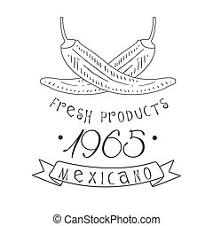 Restaurant Fresh Products Mexican Food Menu Promo Sign In ...