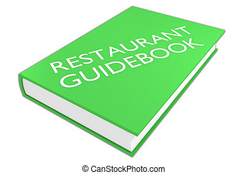 Restaurant Guidebook  - tourism concept