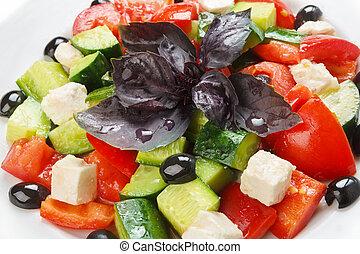 Restaurant healthy food - greek salad