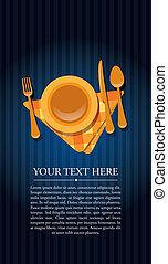 restaurant, invitation