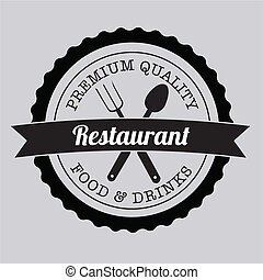 restaurant label