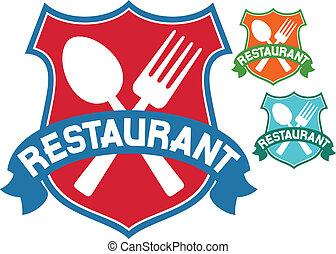 restaurant label