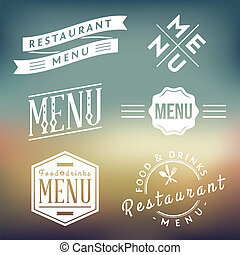 Restaurant Labels