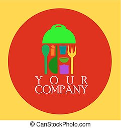 restaurant logo colorful