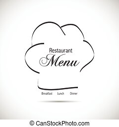 restaurant, logo, conception