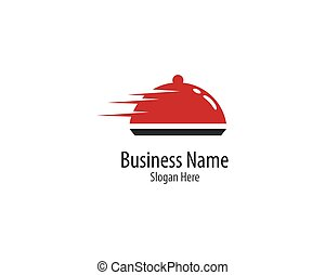 Restaurant logo template vector icon