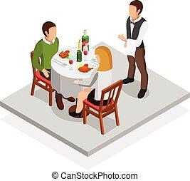 Restaurant Meal Concept