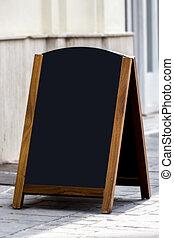Restaurant menu billboard