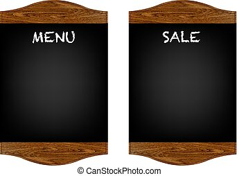 Restaurant Menu Board Set