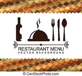restaurant menu design, vector illustration eps10 graphic