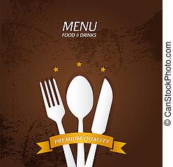 Restaurant Menu Premium Quality