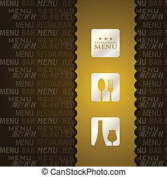 restaurant menu presentation