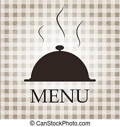 Restaurant menu template vector illustration