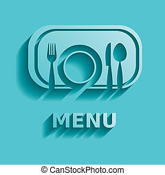 Restaurant menu - Vector modern restaurant menu design in ...