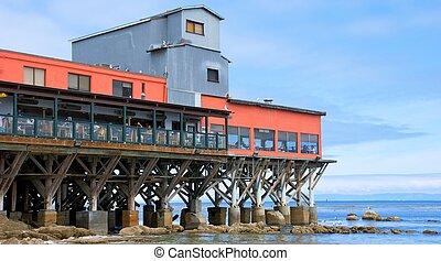 Restaurant on a Monterey California Pier