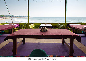 restaurant overlooking near the sea